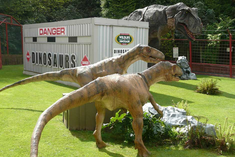 Holiday Cottages Near Coombe Martin Dinosaur Park. Great Days Out For Children